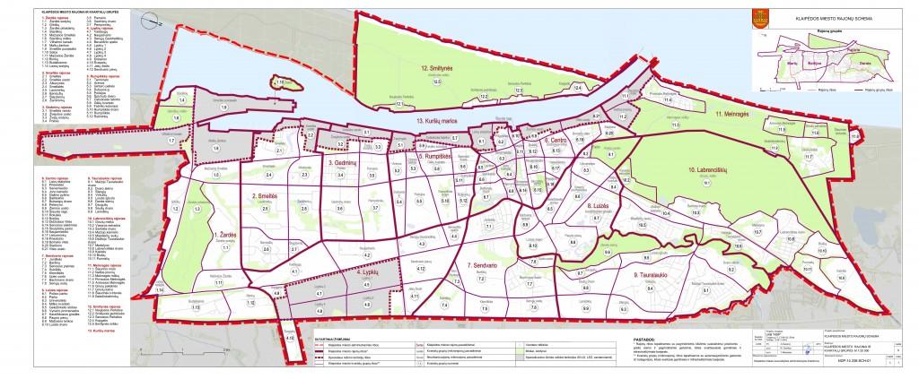 Copy of Klaipedos rajonai